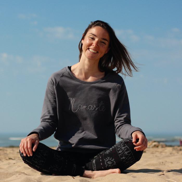 Bérengère doux, prof de YUBÉ Yoga