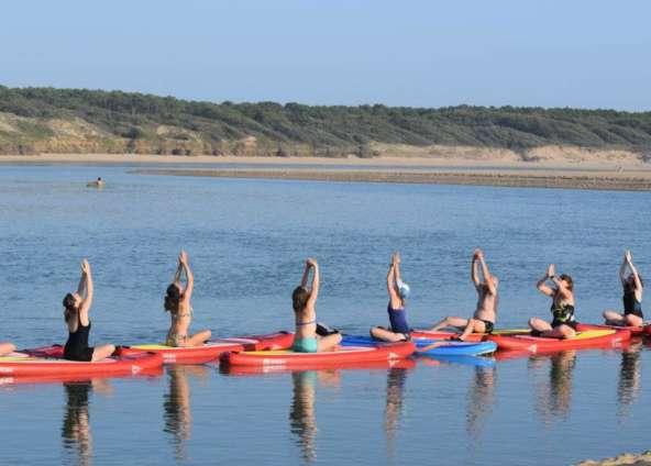 Cours de Paddle Yoga