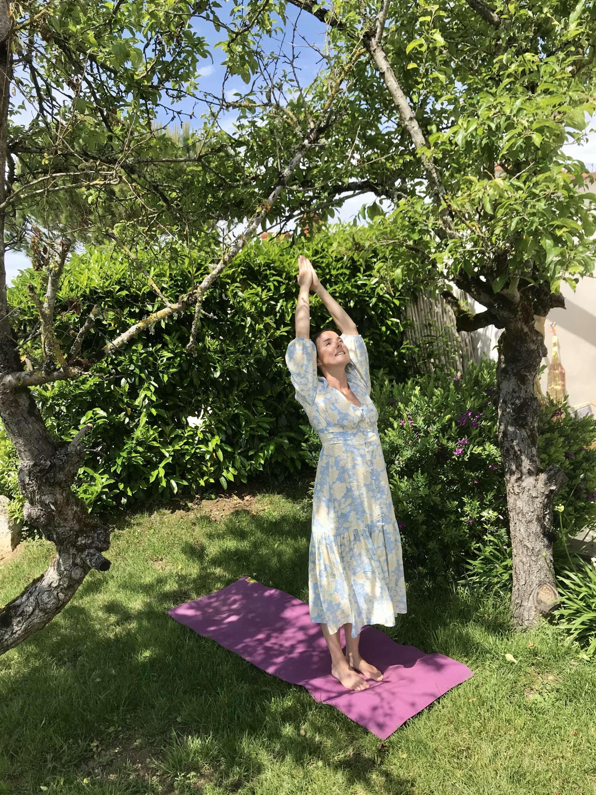 cours de yoga plage du veillon vendée france